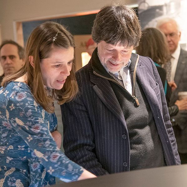 Ken Burns' visit to the Birthplace of Country Music Museum
